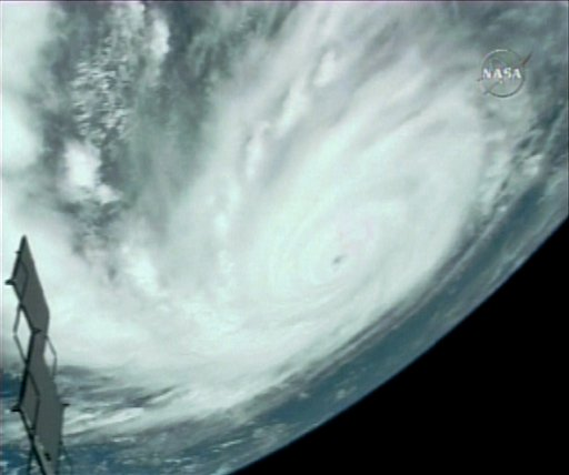 Hurricane Dean from space.